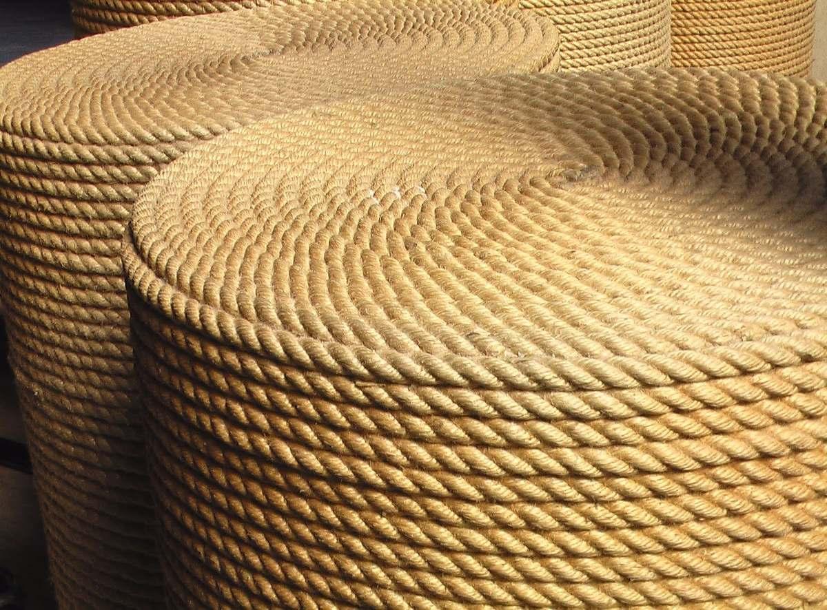 cuerda yute torcido de 6 mm x 100 metros 7990 en mercado libre - Cuerda De Yute