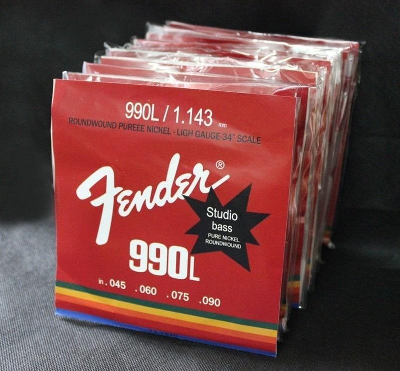 Cuerdas Bajo Fender Envio Gratis