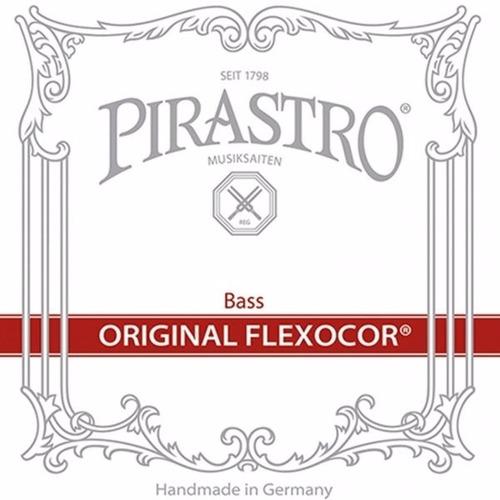 cuerdas contrabajo  pirastro original flexocor set orquesta