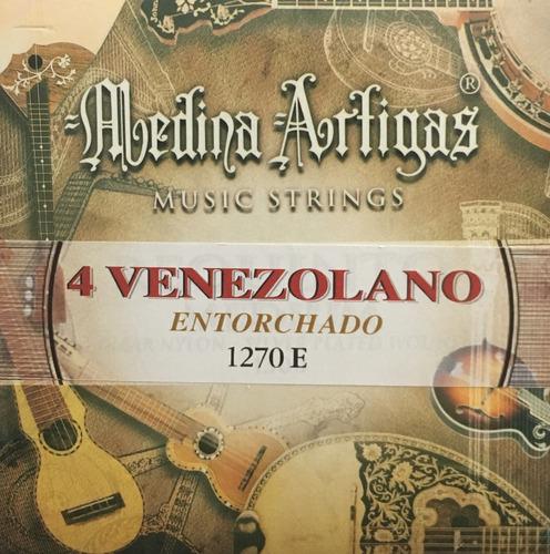 cuerdas cuatro venezolano entorchada medina artigas evzpro