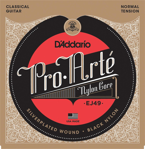cuerdas d´addario pro arte made in usa dadario