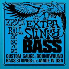 Cuerdas, Encordado De Bajo Ernie Ball