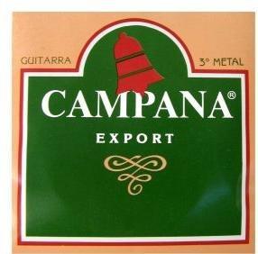 cuerdas encord/criolla campana export 3ª metal san fernando