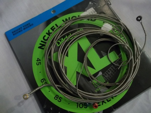 cuerdas para bajo d'addario made usa  elx165