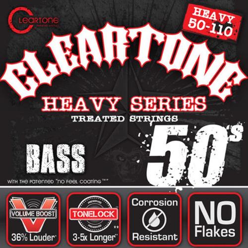 cuerdas para bajo electrico marca cleartone calibre 50-110
