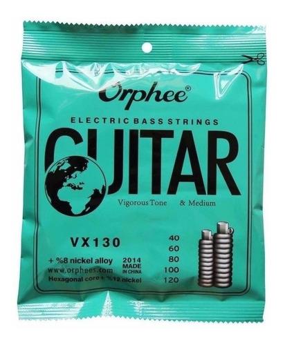cuerdas para bajo orphee vx130 5 cuerdas