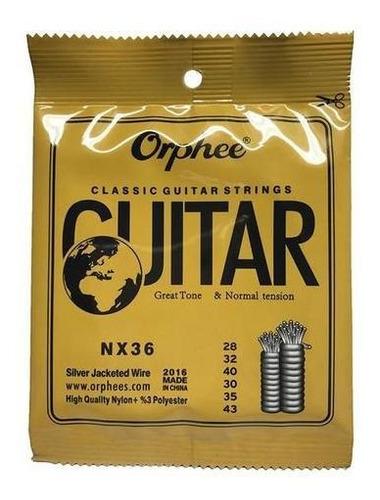 cuerdas para guitarra clasica ophee nx36