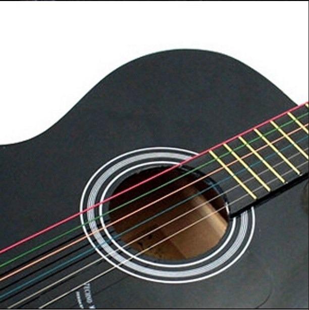 Cuerdas para guitarra de colores en mercado libre - Cuerdas de colores ...