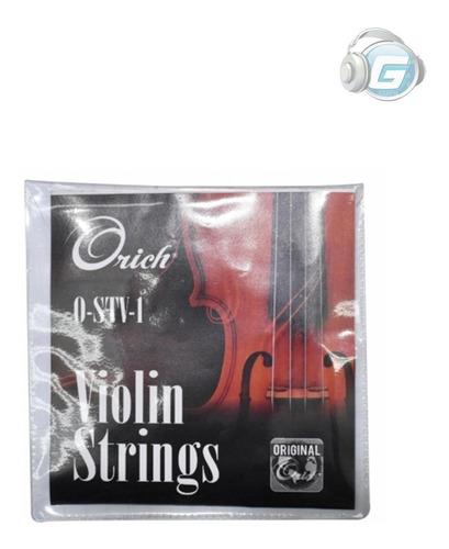 cuerdas para violin orich o-stv-1