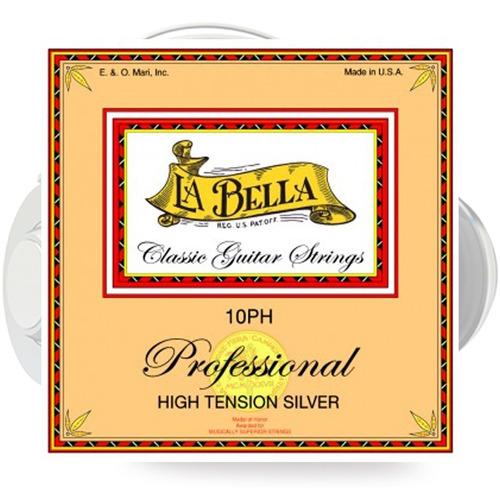 cuerdas profesionales la bella 10ph para guitarra clásica