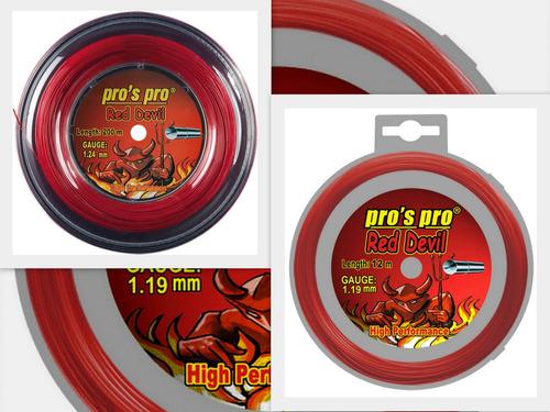 cuerdas pro´s pro  red devil