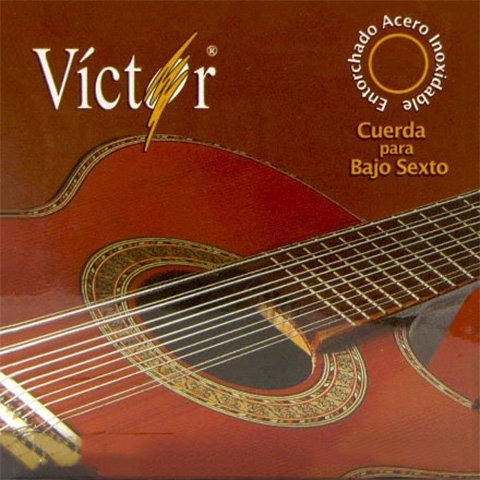 cuerdas victor bajo sexto vcbs-80 confirma existencia