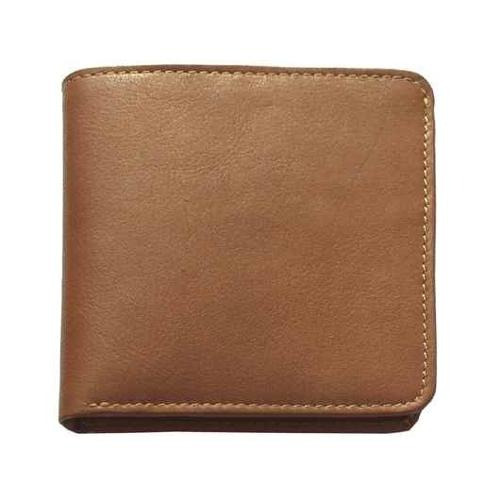 cuero bi-fold wallet w 7 ranura para tarjeta de crédito