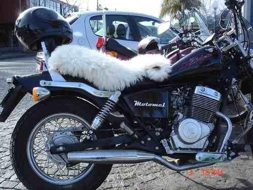 cuero de oveja para asiento de motos, piel cordero, muflones