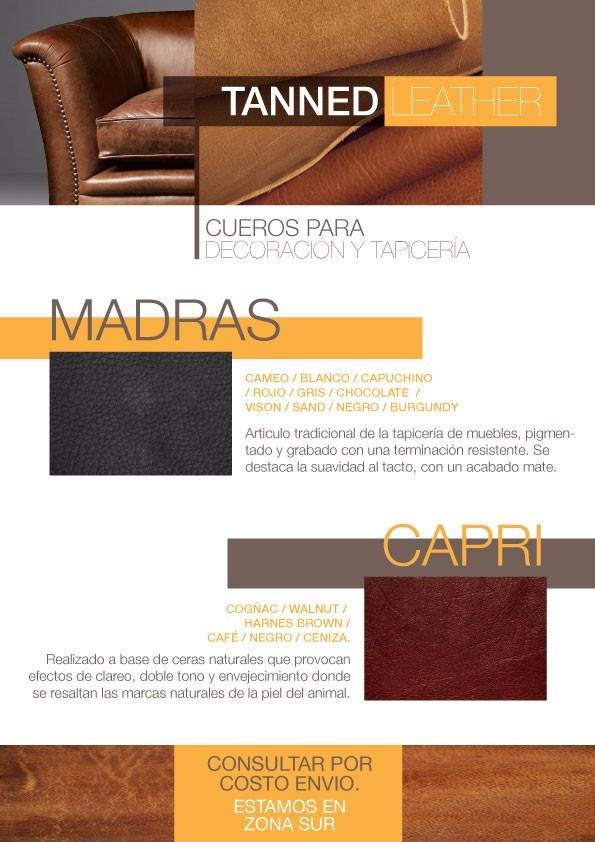 Cuero Para Tapiceria - $ 790,00 en Mercado Libre