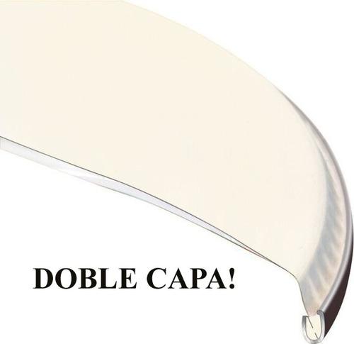 cueros de redoblante 14  doble capa, transp. tipo pinstripe
