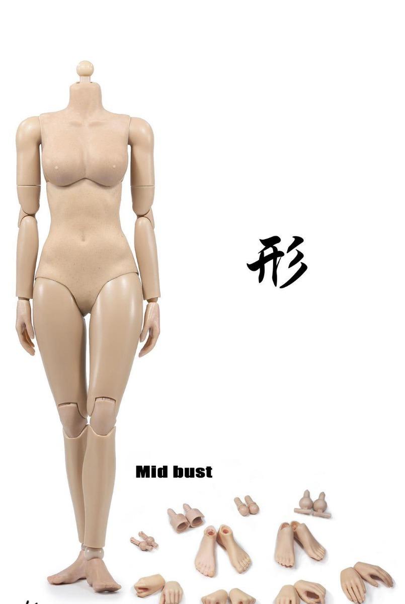 Cuerpo Femenino Figura 1/6 30 Cm Suntan (hot Toys, Kumik) - $ 715.00 ...