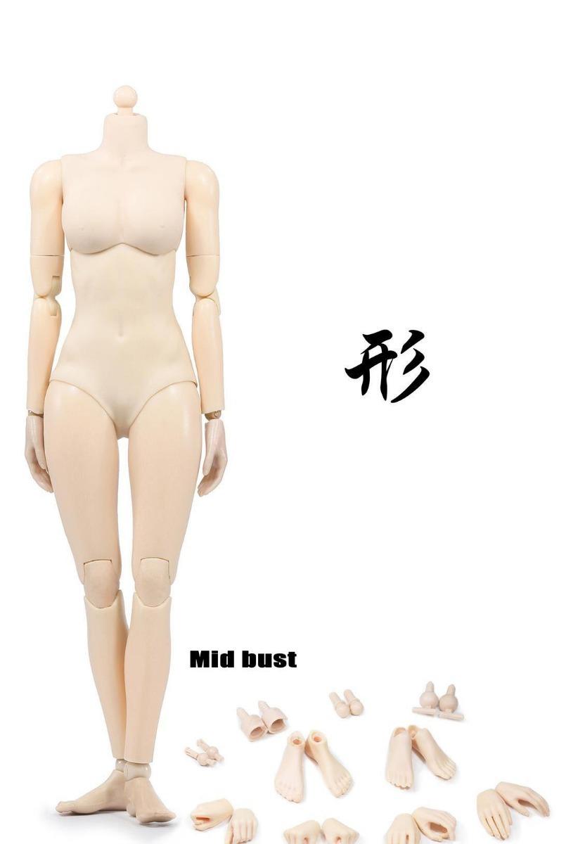 Cuerpo Femenino Figura 1/6 Pale (compatible Hot Toys, Kumik ...