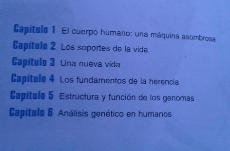 cuerpo humano y genética / herrera, pinto,  moraga