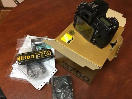 cuerpo nikon d750 + batería  adicional + bolso (disponible)