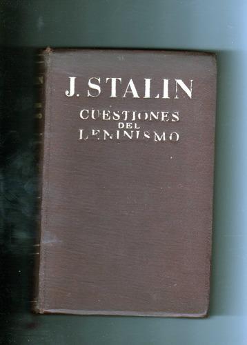 cuestiones del leninismo  j stalin