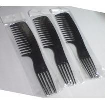 Peine Tipo Tenedor Grande Peluquería (combo X 3)