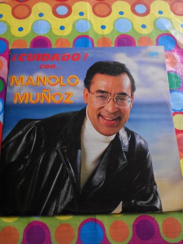 cuidado con manolo muñoz lp 1988