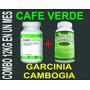 Combo Adelgazante Cafe Verde+garcinia Cambogia 100% Efectivo