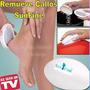 Remueve Quita Callos Sunfine Como En Tv + Piedra + Cepillo