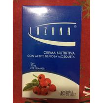 Lozana Crema Nutritiva Con Aceite De Rosa Mosqueta