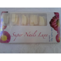 Uñas Postizas Super Nails Luxe Salon I I I De 100 Unid