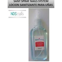 Sany Spray O Locion Sanitizante Para Uñas Nails System