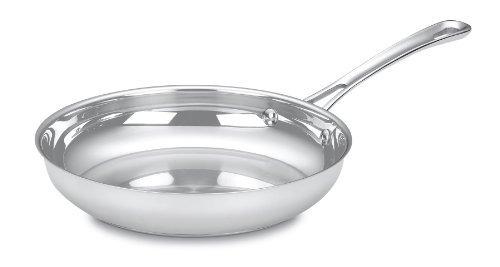cuisinart 422-24 contorno inoxidable de 10 pulgadas abierto