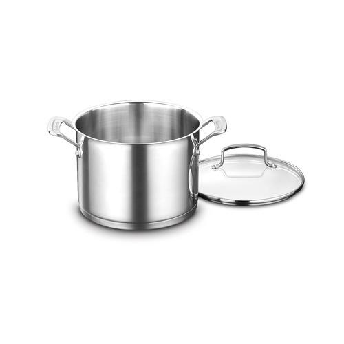 cuisinart 8966-22 6 cuartos. stockpot con cubierta, acero
