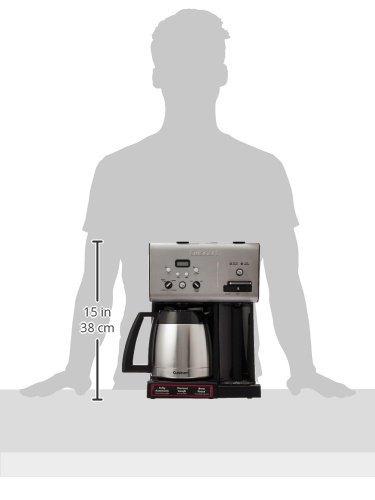 cuisinart chw-14 coffee plus - cafetera programable térmi