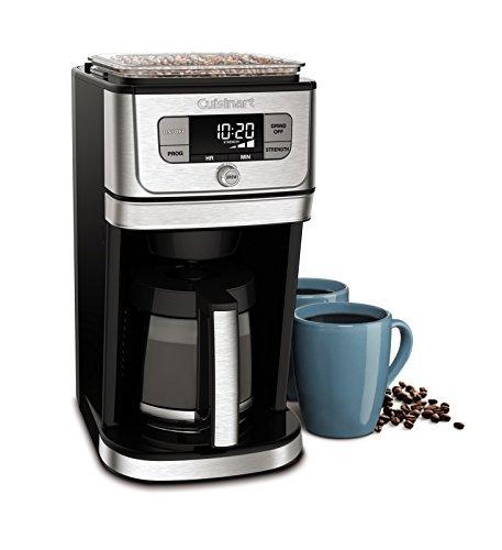 cuisinart dgb800 cafetera + molino de cafe electrico 12 tz