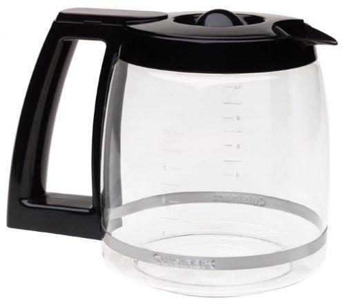 cuisinart jarra de vidrio de reemplazo de 12 tazas dcc-1200p