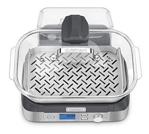 cuisinart stm-1000 olla de vapor programable 5 litros