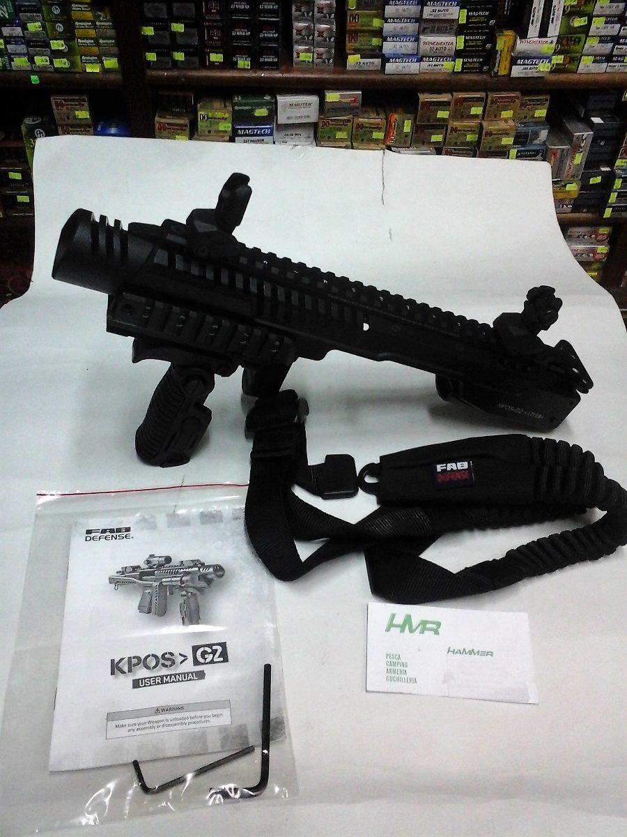 Culatin Kit Tipo Roni Marca Fab Defense Mod: Kpos-g2 Glock ...