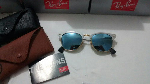 8e65b752735 ... where can i buy òculos de sol ray ban clubmaster aluminium azul água  rb3507 b11e0 47e2a