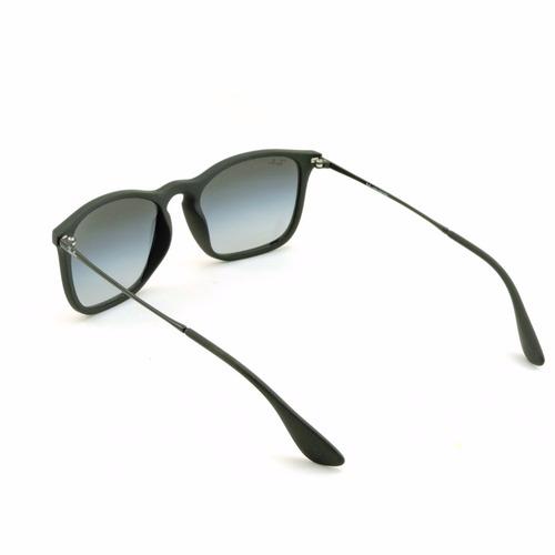 òculos masculino quadrado emborrachado preto lente degradê