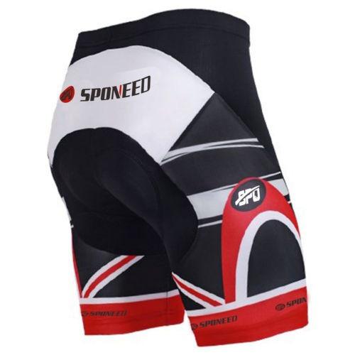 culottes 4d gel acolchado pantalones cortos... (us xxl=as.)