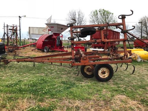 cultivador lezcano - maquinaria agrícola