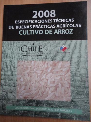 cultivo de arroz especificaciones técnicas