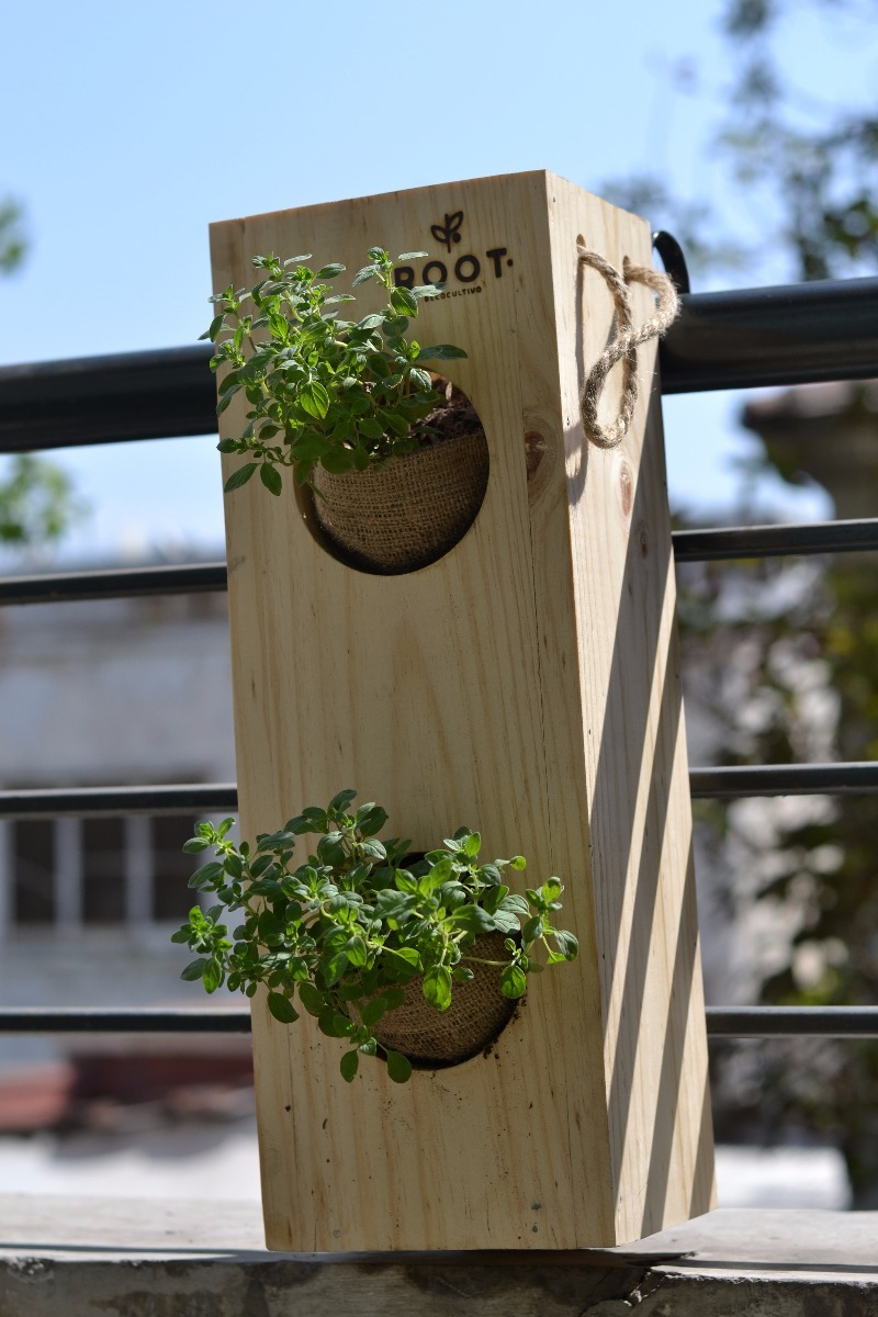 Huerto Cultivo Departamento Terraza Plantas