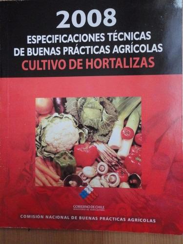 cultivos de hortalizas especificaciones técnicas