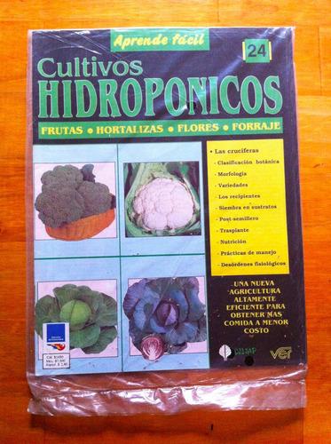cultivos hidropónicos-   fasciculo nº 24