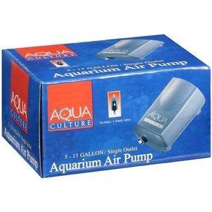 cultura aqua 5-15 galones sola salida acuario bomba de aire