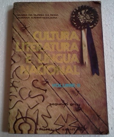 cultura literatura e lingua nacional volume 2 maria da glori