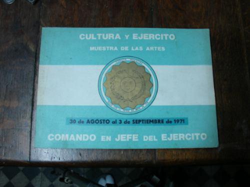 cultura y ejército muestra artes agosto 1971 vanguardia libr